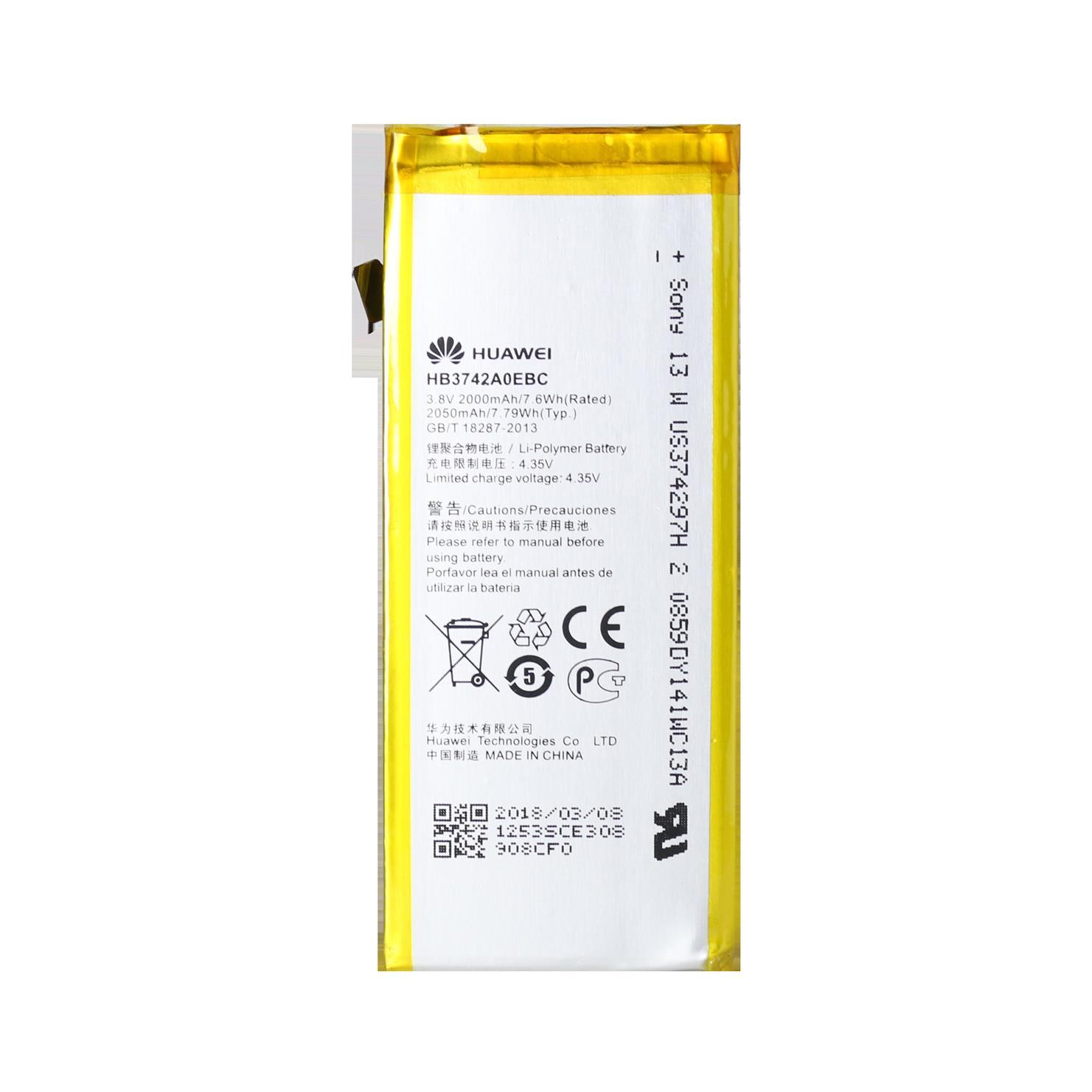 HUAWEI ASCEND P6-U06 Battery HB3742A0EBC 2000MAH - Phone